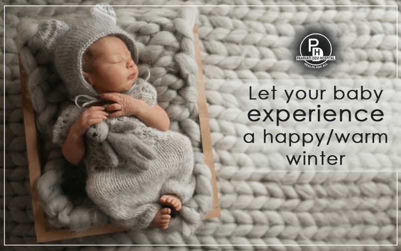 Let your baby experience happy winter